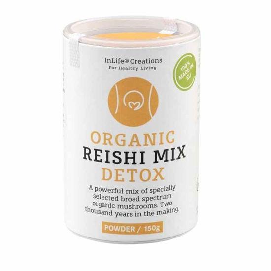 Reishi mix detox medicinske gobe - prah, 150 g
