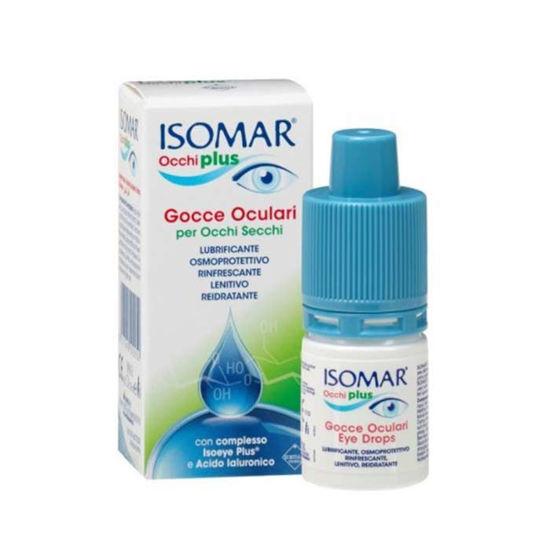 Isomar Plus kapljice za suhe oči - hipotonične, 10 mL