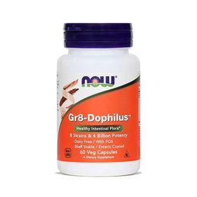 Slika Now Gr8-Dophilus za uravnoteženo črevesno floro, 60 kapsul