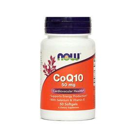 Slika Now koencim Q10 50 mg, 50 kapsul ali AKCIJA
