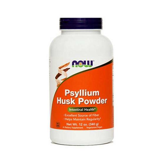 Now Psyllium Husk prehransko dopolnilo v prahu, 340 g