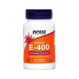 Slika Now E-400 vitamin E, 50 kapsul