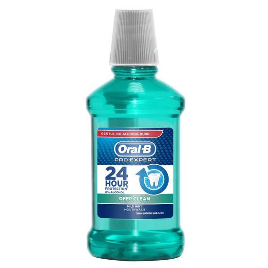 Oral-B Pro-Expert Deep Clean ustna voda za globinsko čistočo, 250  ali 500 mL