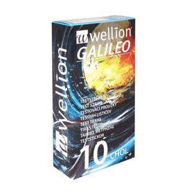 Slika Wellion Galileo merilni lističi holesterol, 10 lističev