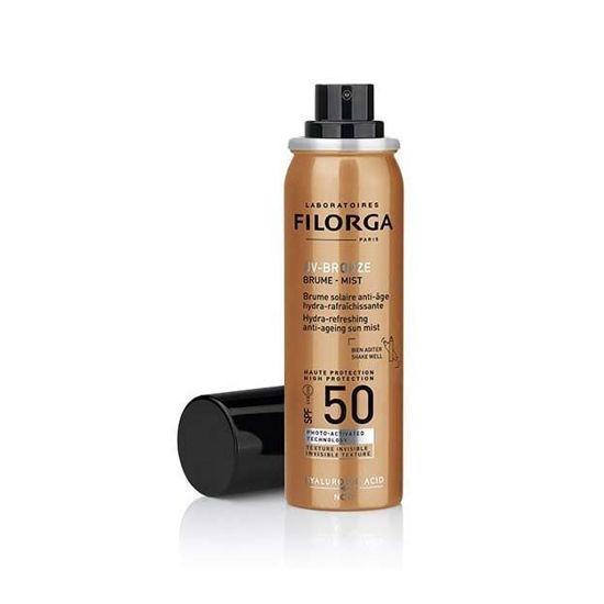 Filorga UV Bronze mist zaščita proti soncu SPF50+, 60 mL