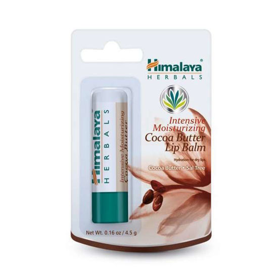 Himalaya vlažilni balzam za ustnice s kakavovim maslom, 4.5 g