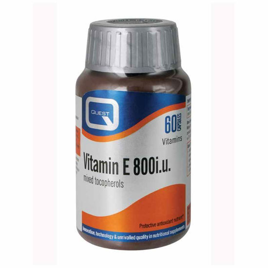 Quest vitamin E 800 i.u., 60 kapsul
