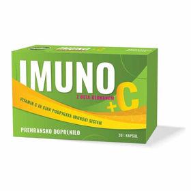 Slika MyNuti Imuno +C, 30 kapsul