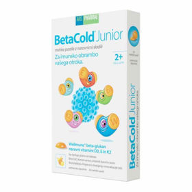Slika BetaCold Junior mehke pastile, 30 pastil