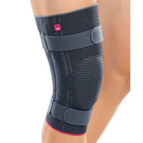 Slika Genumedi plus opornica za koleno s silikonskim obročem za pogačico in dodatnimi trakovi