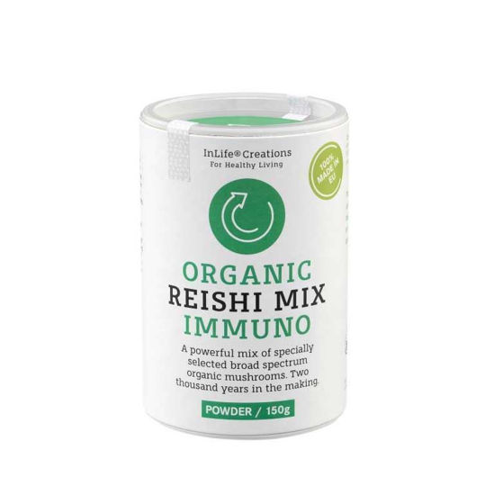 Organic reishi Mix (Immuno ali Onca) prah, 150 g
