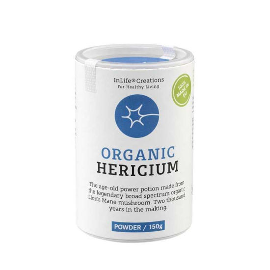 Organic Hericum resasti bradovec, kapsule ali prah