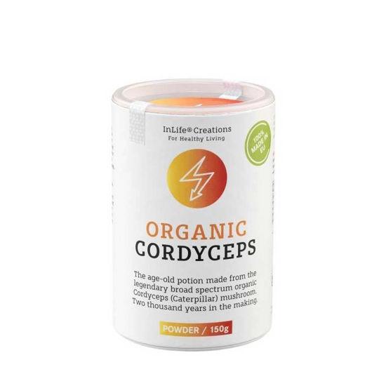 Organic Cordyceps medicinske gobe - prah ali kapsule