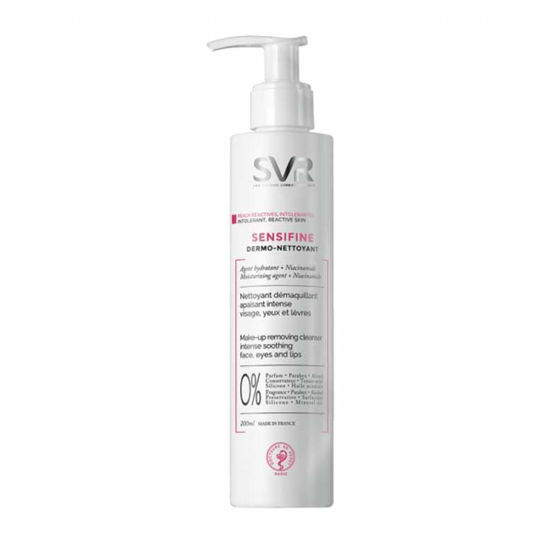 SVR Sensifine čistilo za občutljivo kožo, 200 mL