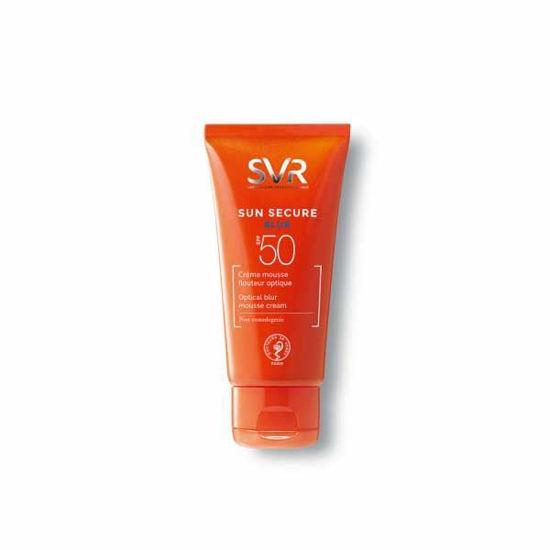 SVR Sun Secure Blur za zaščito kože obraza s SPF 50, 50 mL