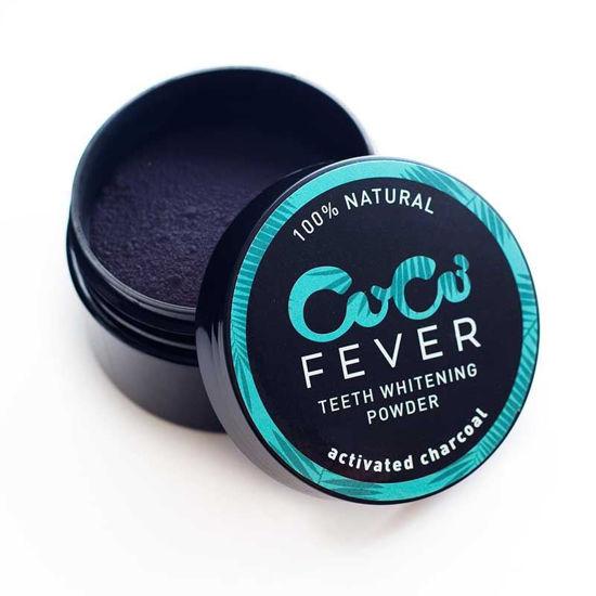 Coco Fever aktivno oglje za beljenje zob, 30 g