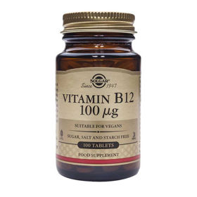 Slika Solgar Vitamin B12 100 μg, 100 tablet