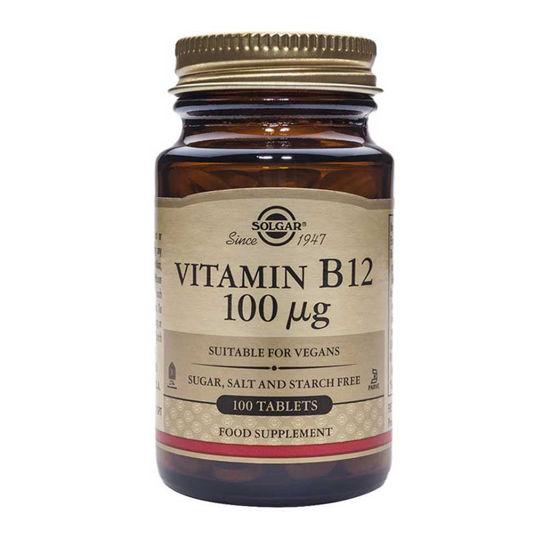 Solgar Vitamin B12 100 μg, 100 tablet