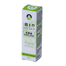 Slika BioHemp CBD 5 % konopljine kapljice, 10 mL