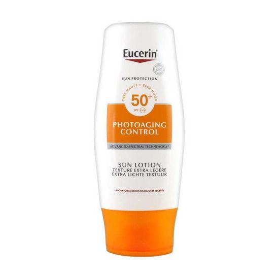 Eucerin Sun PhotoAging Control losjon za zaščito pred soncem (SPF 30 ali 50+), 150 mL