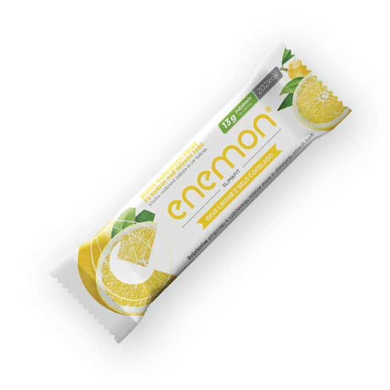 Enemon Slim & Fit ploščica limona z belo čokolado, 14 g