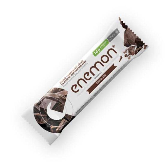 Enemon Slim & Fit ploščica - čokolada, 14 g