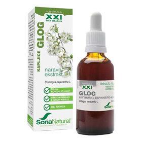 Slika Soria Natural glog XXI kapljice brez alkohola, 50 mL