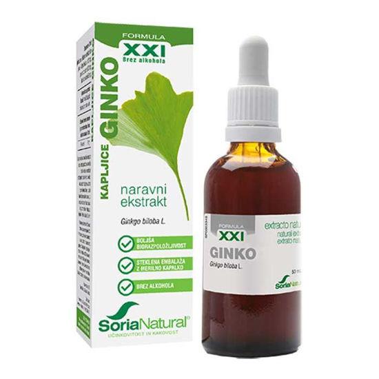 Soria Natural Ginko XXI kapljice, 50 mL