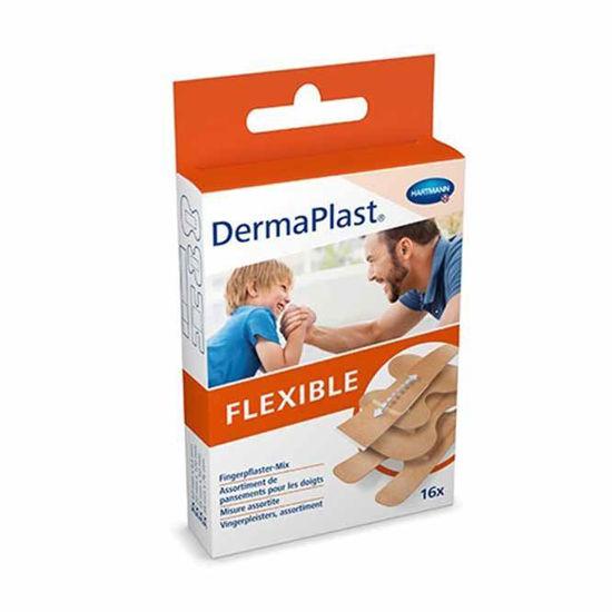 Dermaplast Flexible 6x10 cm, 10 obližev
