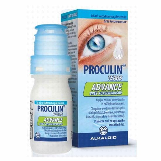 Proculin Tears Advance kapljice za oči, 10 mL ali AKCIJA