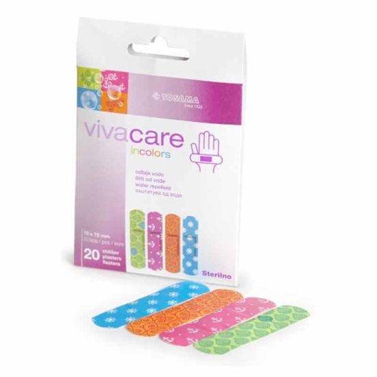 Vivacare Incolors sterilni obliži, 20 obližev