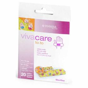 Slika Vivacare TO.TO sterilni otroški obliži, 20 obližev