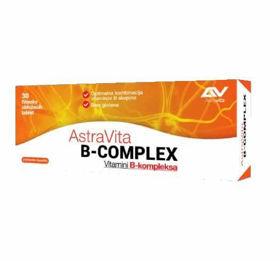 Slika AstraVita B-complex, 30 tablet