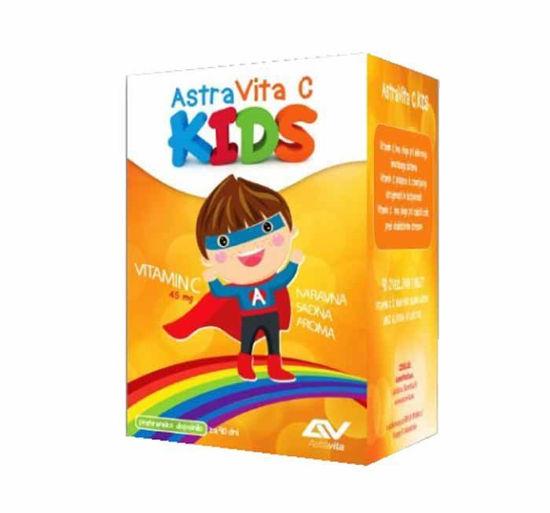 Astravita C Kids žvečljive tablete, 90 tablet