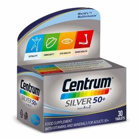 Slika Centrum Silver za odrasle 50+, 30 tablet