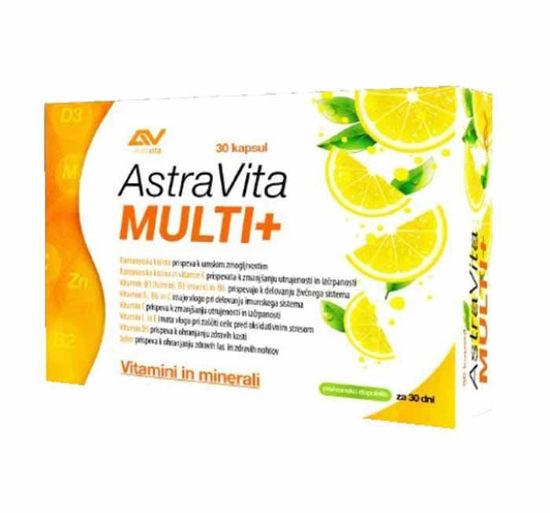 AstraVita Multi +, 30 kapsul