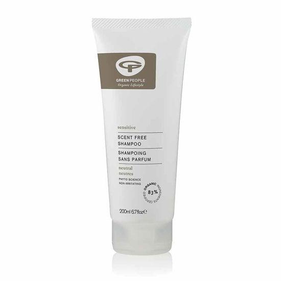 Green People blag šampon za lase brez dodanih dišav, 200 mL