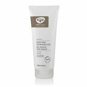 Slika Green People blag gel za tuširanje brez vonja in za občutljivo kožo, 200 mL
