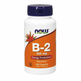 Slika Now B-2 vitamin, 100 kapsul