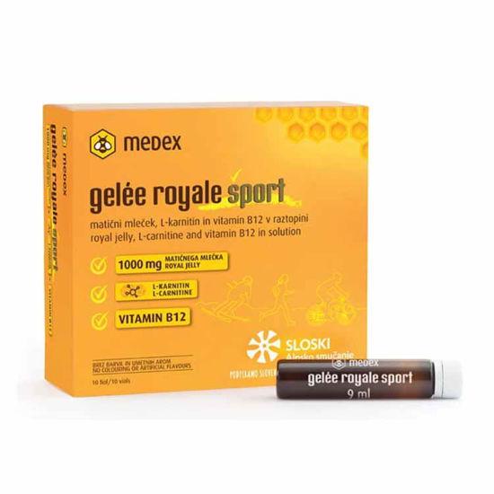Gelee royale sport fiole, 10x9 mL