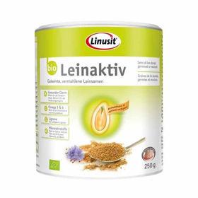 Slika Leinaktiv bio zlato laneno seme - pločevinka, 250 mL