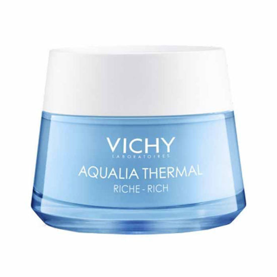 Vichy Aqualia Thermal Rich krema za 24 urno vlaženje za suho kožo, 50 mL