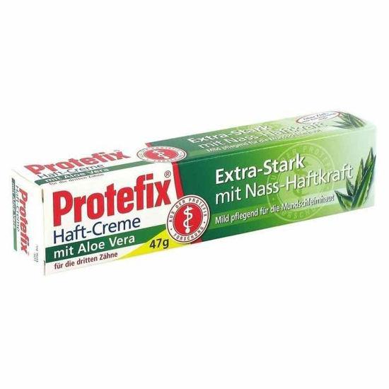 Protefix Aloe Vera močna pričvrstilna krema, 47 g