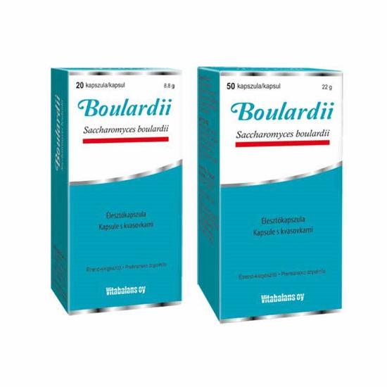 Boulardii, 20 ali 50 kapsul