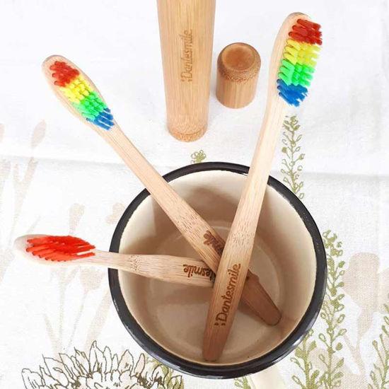 Dantesmile zobna ščetka iz bambusa