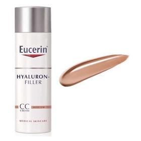 Slika Eucerin Hyaluron-Filler CC krema medium, 50 mL