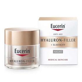 Slika Eucerin Hyaluron Filler + Elasticity nočna krema, 50 mL