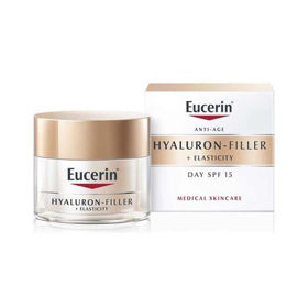 Slika Eucerin Hyaluron Filler + Elasticity dnevna krema z ZF 30, 50 mL