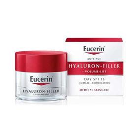 Slika Eucerin Hyaluron-Filler + Volume Lift dnevna krema za normalno do mešano kožo z ZF 15, 50 mL