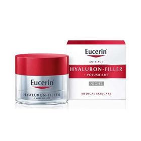 Slika Eucerin Hyaluron-Filler + Volume-Lift nočna krema za kožo, 50 mL
